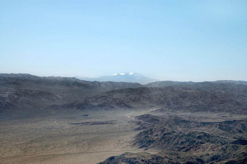 Zoomed in on San Jacinto Peak.
