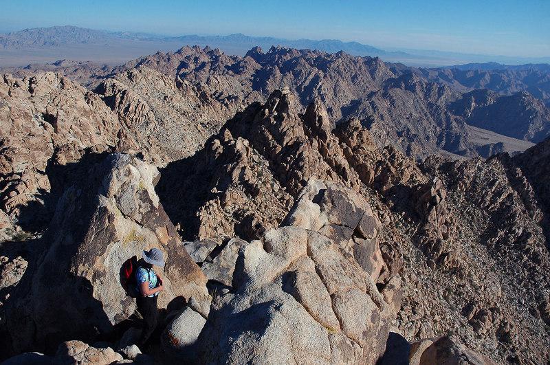Dyadic Peak to the east.