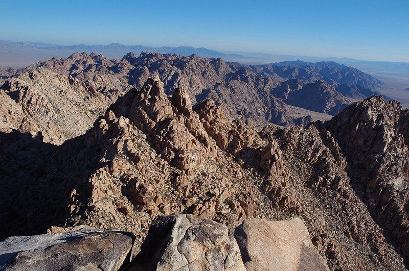 Another look at Dyadic Peak.