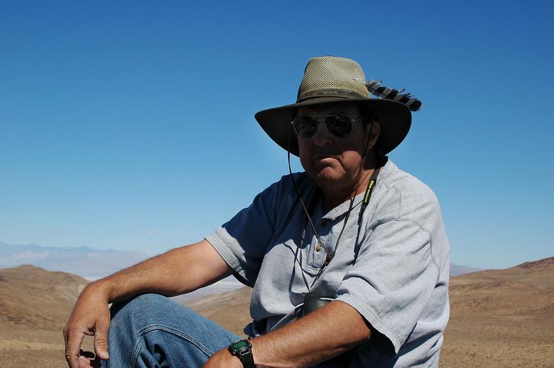 Tom on the peak.