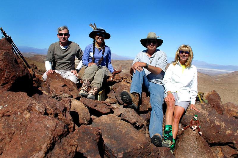Group shot on Klinker Mountain at 4,562 feet.