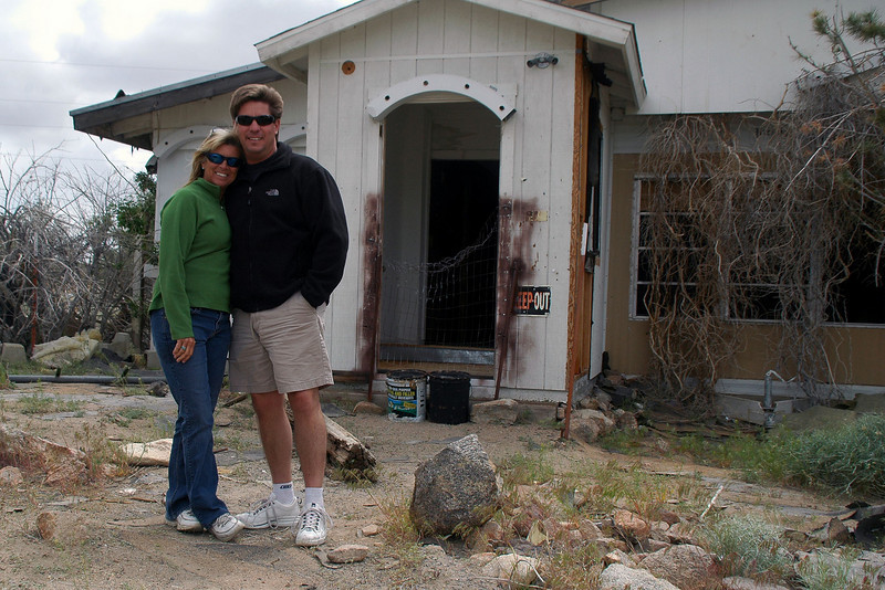 Ran into Sooz and Chip in Bishop. This shot was taken at Janie's Ranch a short way into Nevada. We stopped here for a little while to check the place out.