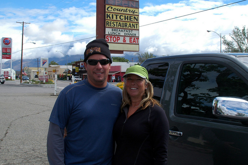 Chip and Sooz in Big Pine. Fun trip with a great group of people.<br /> <br /> THE END