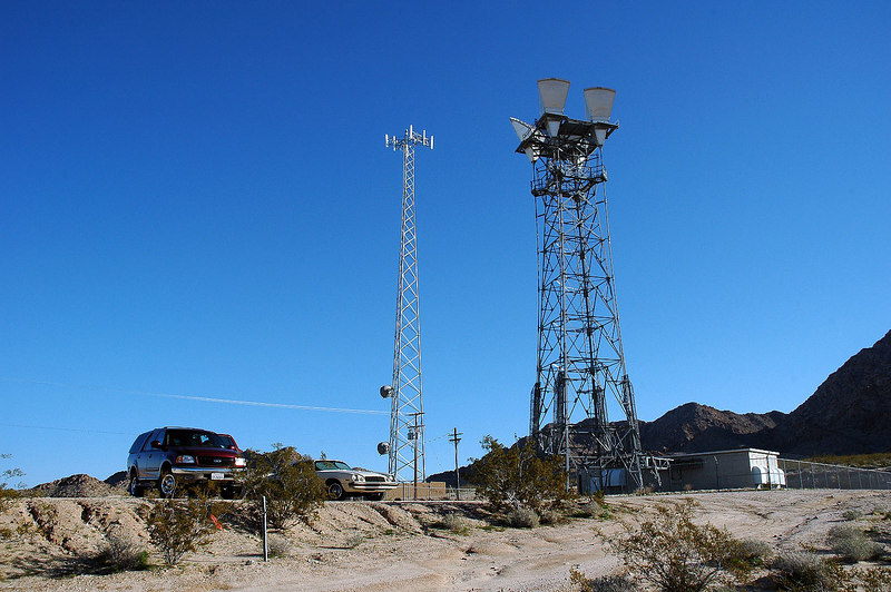We met at the microwave tower just off the Amboy Road.
