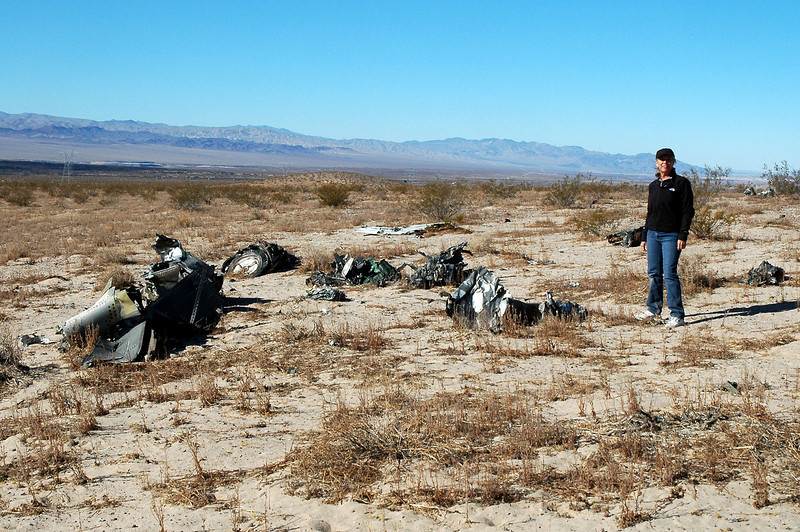 We decided to check out a F-4D Phantom crash site that I visited a couple of years ago that was in the area.