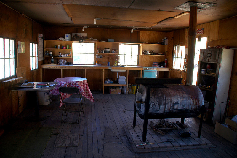 Inside the World Beater Cabin. Stopped here to have lunch in the cabin.  The plan was for me to pick up Sooz, Robin and Chip in Morman Gulch, but since my hike turned out to be a lot shorter than I was expecting I had some time to kill.