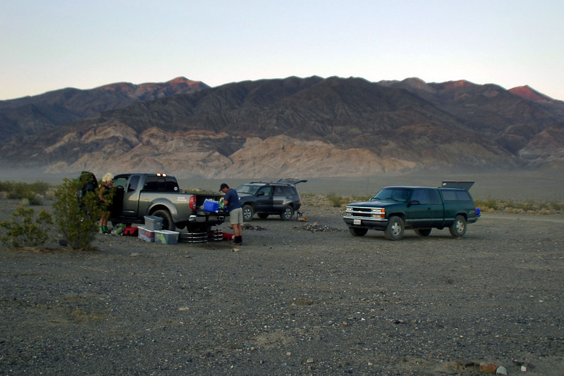 Back at camp just past sunset. <br /> <br /> THE END