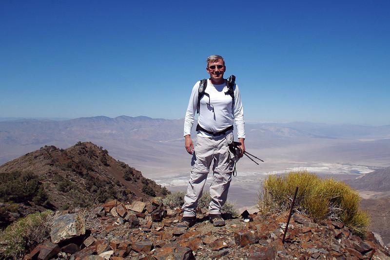 Me on the peak.