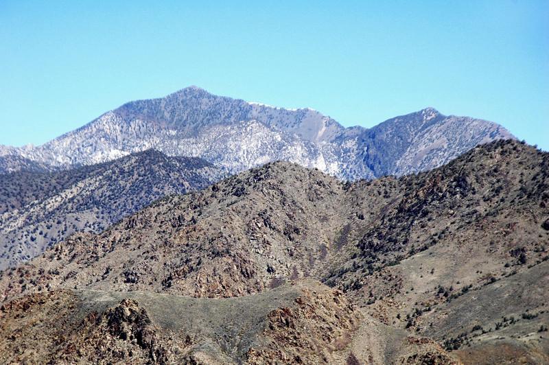 Telescope Peak to the north.