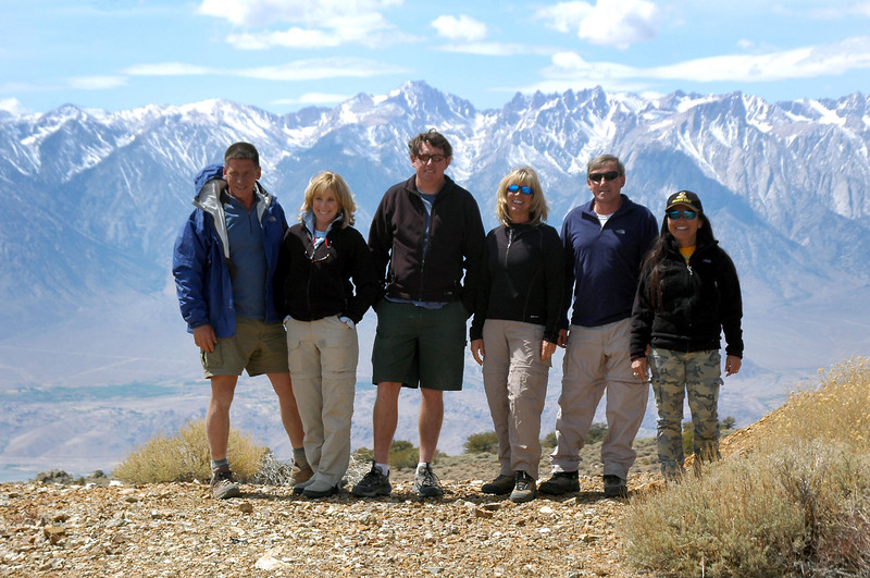 Tom, Norma, John, Sooz, Joe(me) and Cori at the mine.