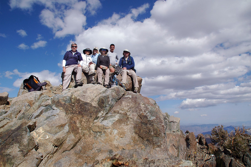 Group shot on New York Butte at 10,668 feet.