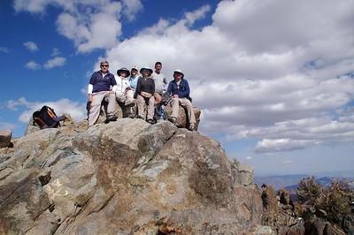 Swansea To Cerro Gordo 4X4 With Hikes To New York Butte & Pleasant  Mountain 4/7/07-4/8/07