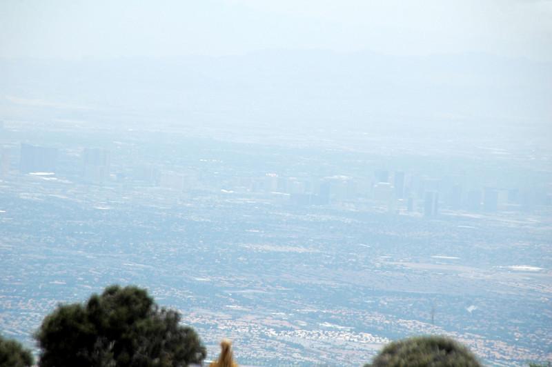 Las Vegas is in that haze.