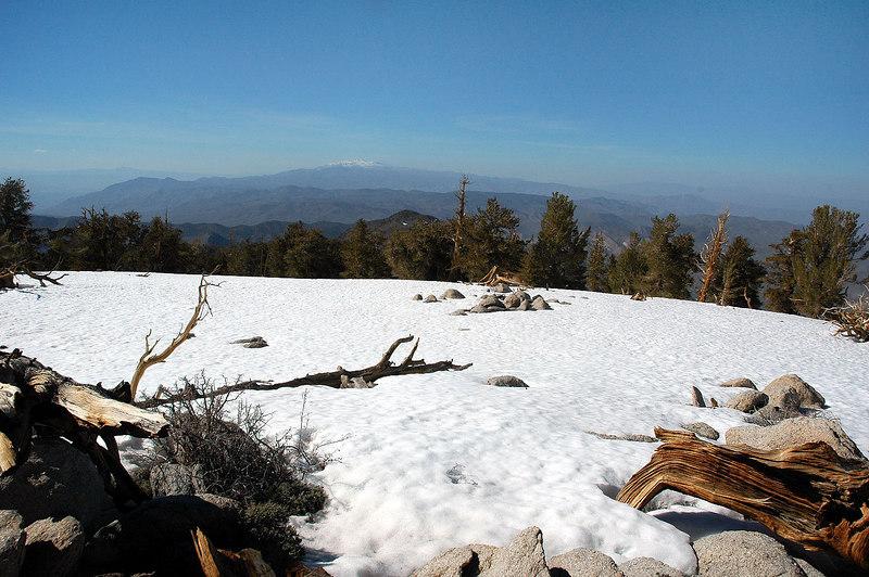 White Mountain to the north.