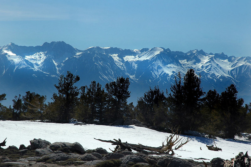 Another section of the Sierras to the west.