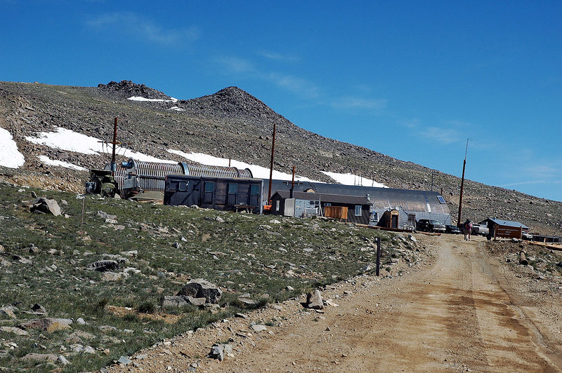 Approaching the Barcroft Research Station, 2 miles in and at 12,470'.