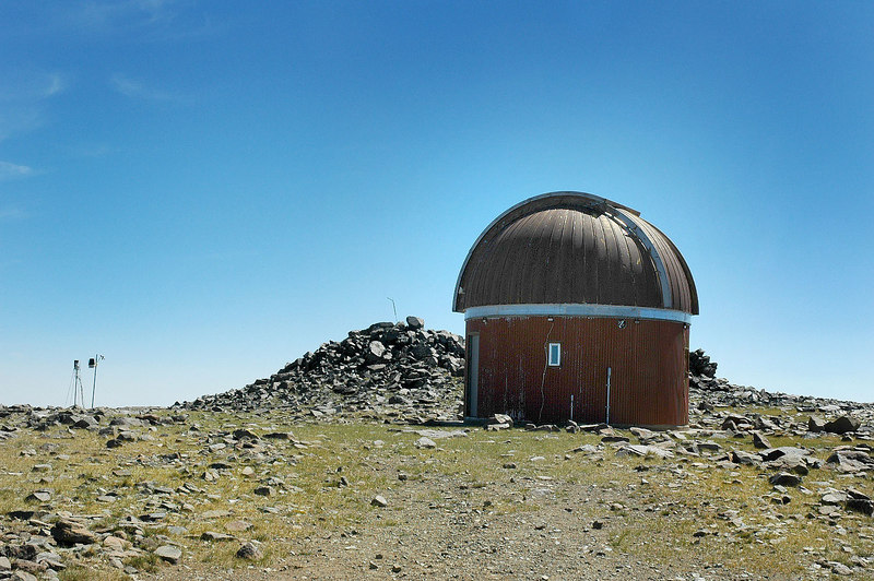 The observatory at 12,800'.