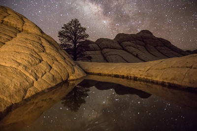 Lone Pine Milky Way