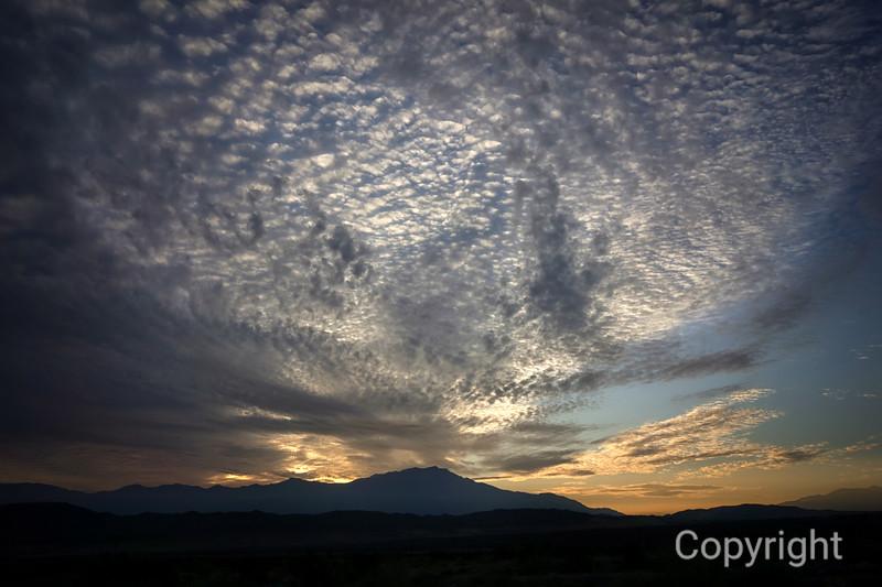 Clouds over San Jacinto