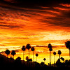 Coachella Valley, Ranchop Mirage, Palm Springs sunset
