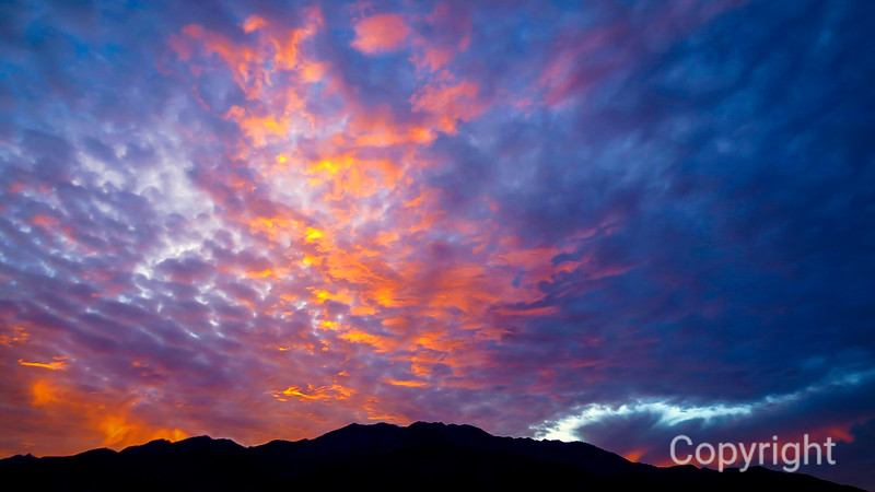 San Jacinto Sunset