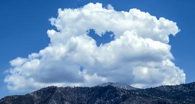 Heart Cloud over Coachella Valley