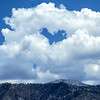 Heart Cloud over Coachella Valley