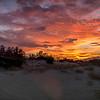 Sunset on Desert Sands