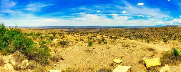 Vast SW Texas Desert