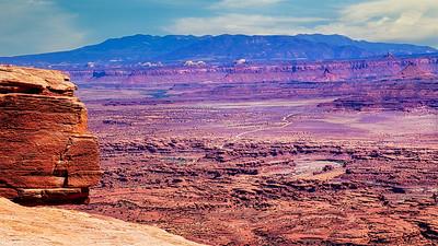 Vast Canyon Levels of Canyonlands National Park, Moab, UT