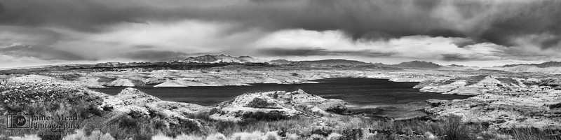 """""""Desert Memories,"""" Lake Mead in Black and White, Lake Mead National Recreation Area, Nevada"""