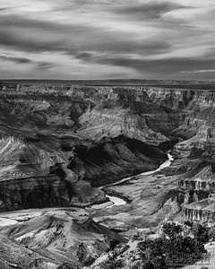 """A Place in Time,"" The Colorado River and the Palisades of the Desert, Grand Canyon National Park, Arizona"