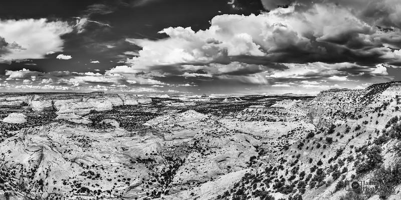"""Wrath,"" Eagle Canyon Thunderstorm, San Rafael Swell, Utah"