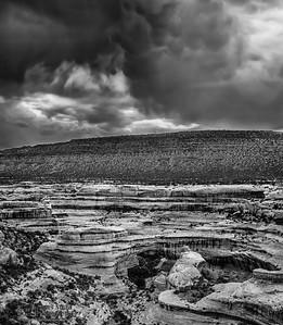 """""""Desert Fury,"""" Thunderstorms above Sipapu Bridge, Natural Bridges National Monument, Utah"""