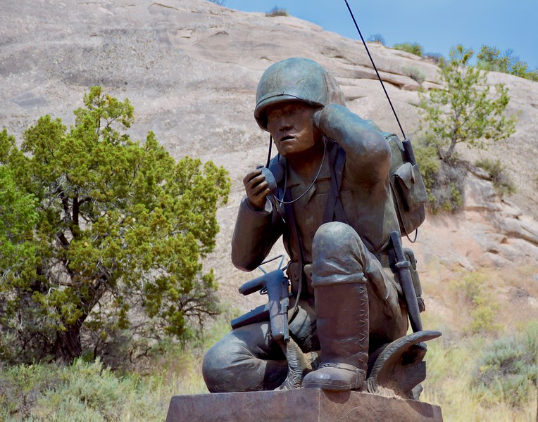 Navajo Code Talkers Monument