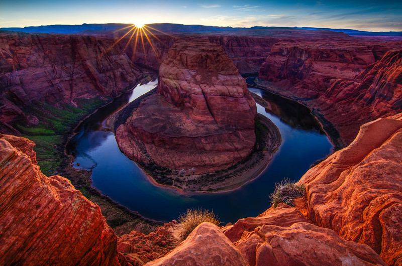 Spring Sunset over Horseshoe Bend