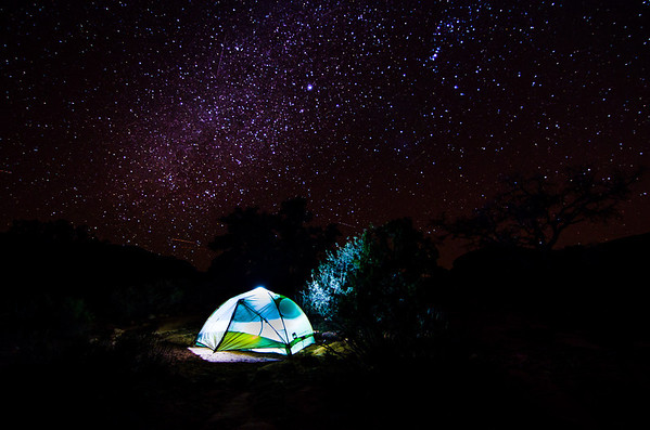 Stars above the Grand Canyon