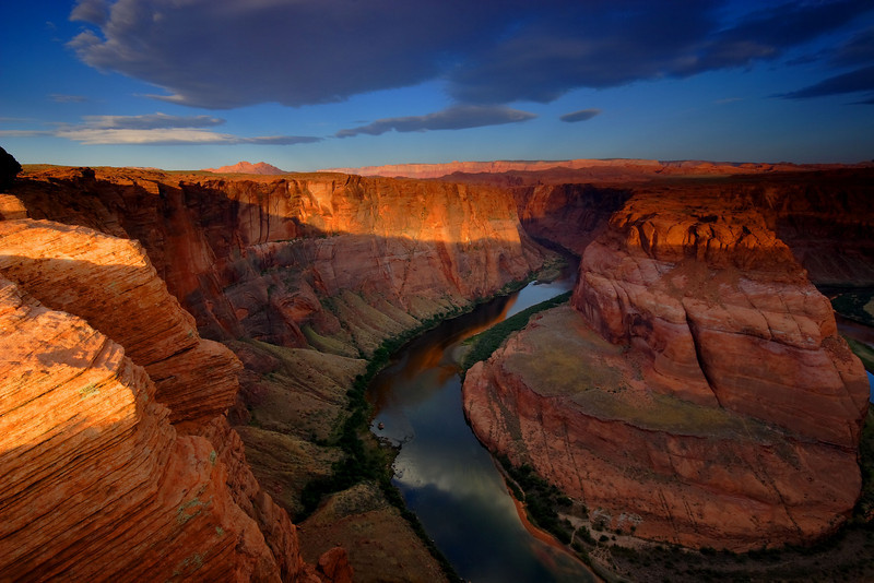 Sunrise, Horseshoe Bend<br /> Page<br /> Arizona