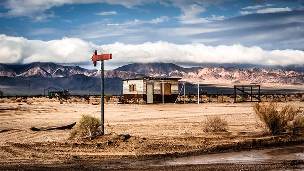 Mojave Sign Post