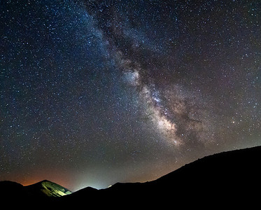 Mountain Top Milky Way