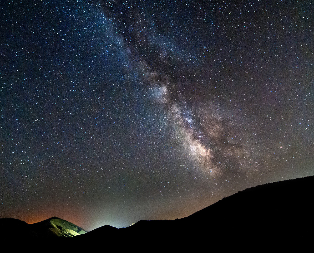 Mountain Top Milky Way
