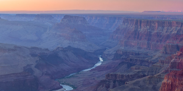 Dusk, Grand Canyon (East Rim)