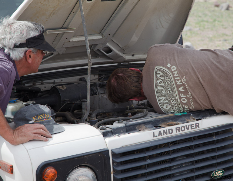 How many engineers does it take to fix a Defender?