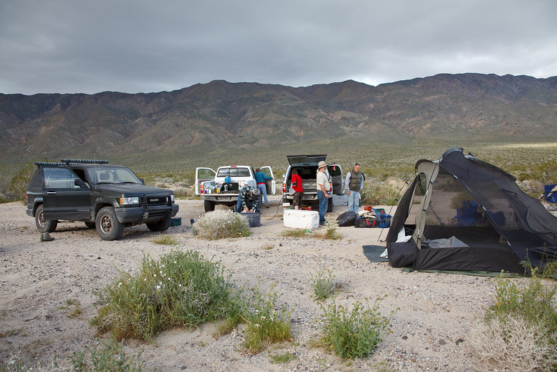 Breaking Camp in Panamint Valley<br /> <br /> Can you see the stories within the story?