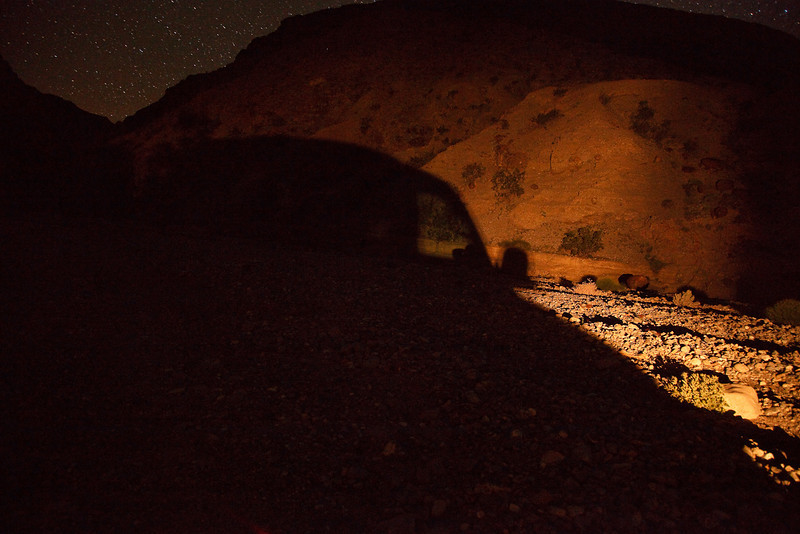 Lantern Light and Shadows<br /> <br /> Our camp site in Marble Canyon
