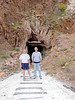 Bruce and Peter at Ibex Spring talc mine