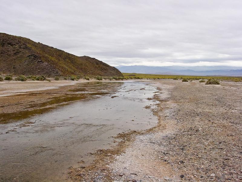 Armagosa River in full flow
