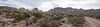 Granite Pass Panorama<br /> <br /> Our campsite to be is in the notch near the center of the pano