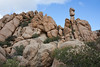 Fantastic rock formations at the campsite