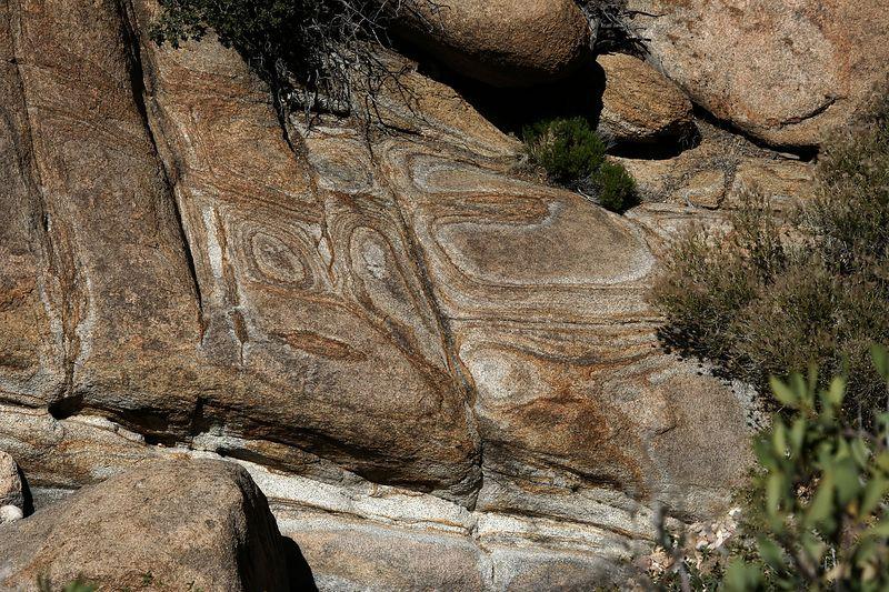 Wierd patterns in this beautiful granite